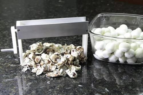 descascaradora huevos de codorniz