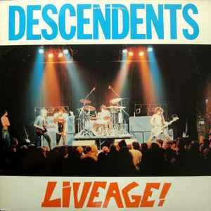 descendents ¿- liveage! - lp- cyco records