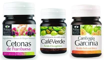 descenso de peso combo - cetona, garcinia y cafe verde