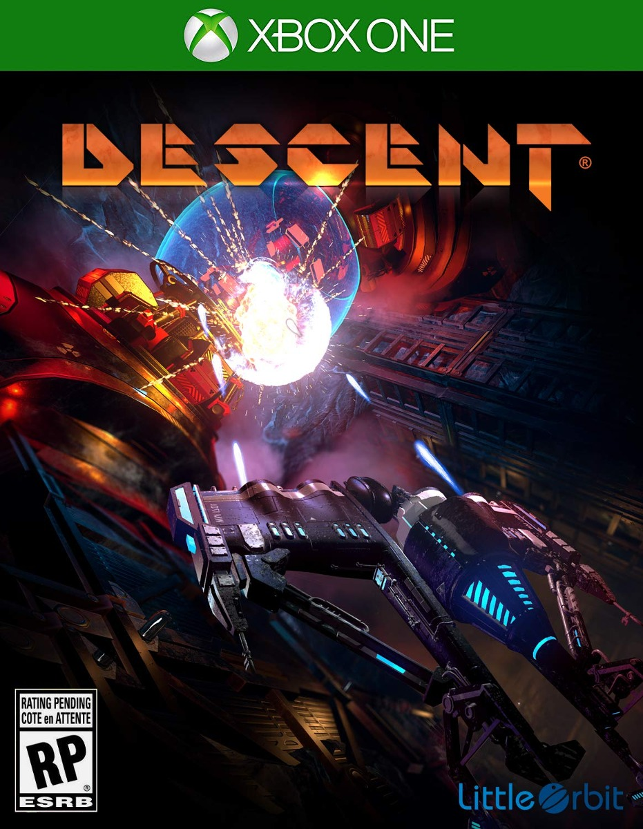 Resultado de imagen de portada Descent xbox one