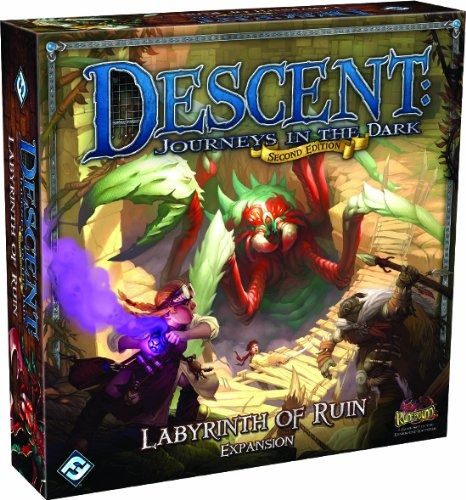 descent second edition labyrinth of ruin expansion