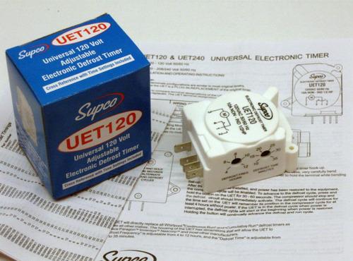 descongelador temporizador control universal nevera 120v