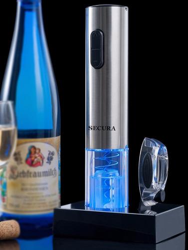 descorchadora electrica para vino secura swo-3n