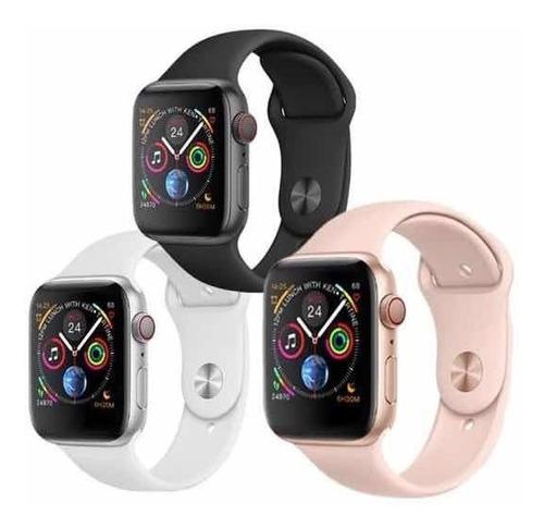 descubra relógio smartwatch iwo 8 , 44mm
