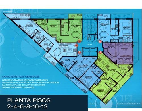 descubri reggia 360 - a mts plaza españa-  dptos 1 dorm., nva cba