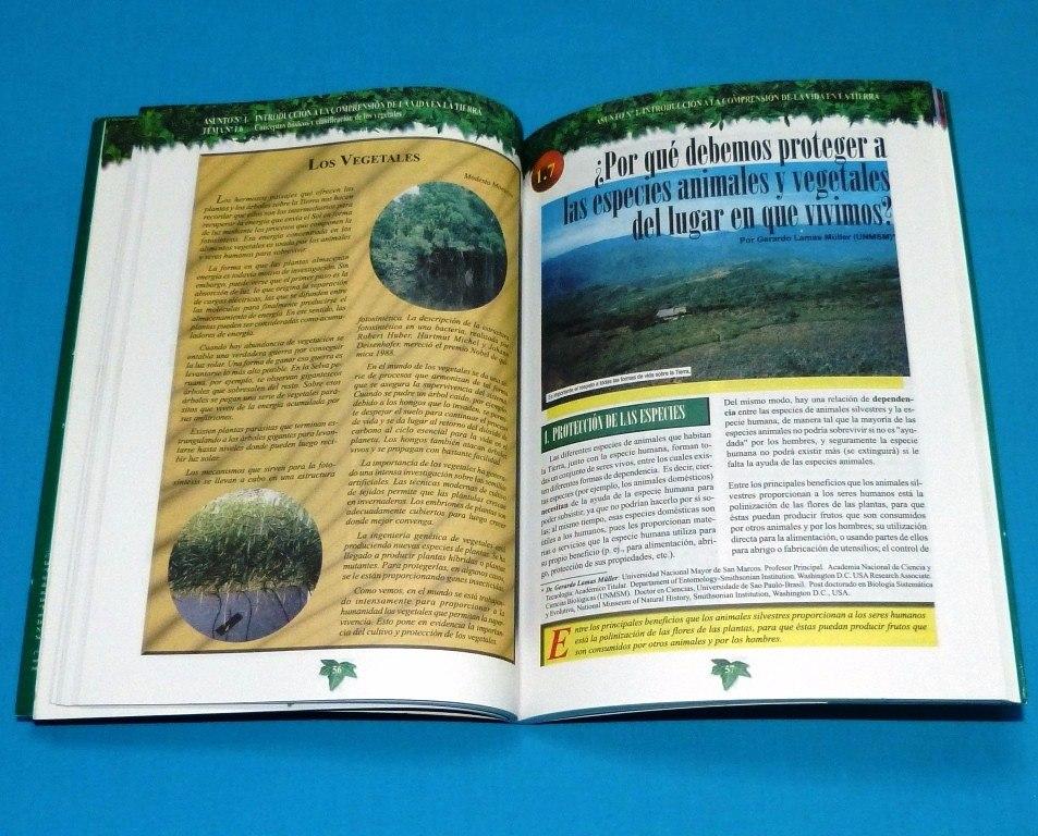 Descubriendo La Sostenibilidad En La Naturaleza Vida Tierra - S/ 30 ...