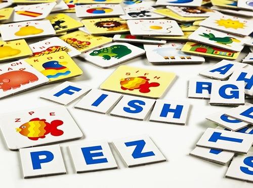 descubriendo palabras en español e inglés  ruibal 5+