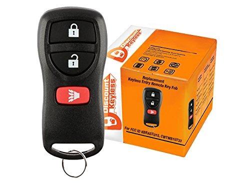 descuento keyless key fob keyless entry carro remoto nissan