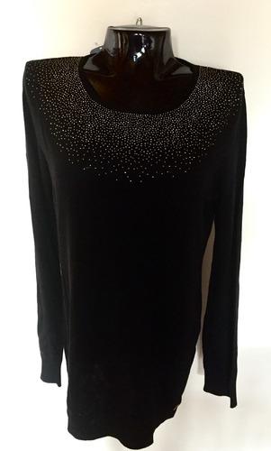 descuento15%blusa elegante  calvin klein manga larga talla m