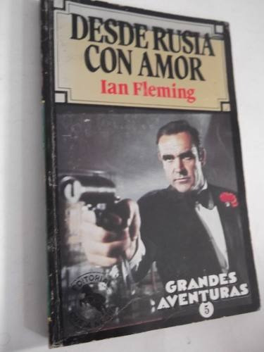 desde rusia con amor ian fleming james bond libro pelicula