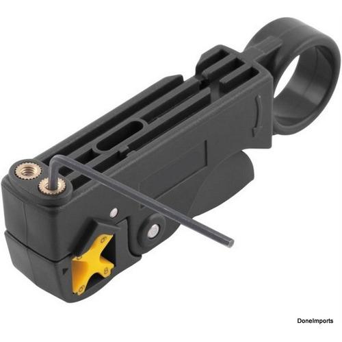 desencapador de cabo coaxial parabolica rg 4 6 8 e 12mm