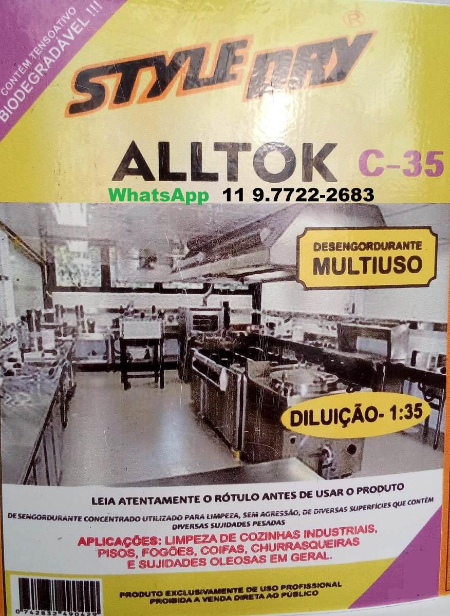 Desengordurante Industrial Nico Original Faz 35 Litros R 54 90