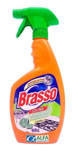 desengrasante brasso antigrasa 650 ml aroma limón