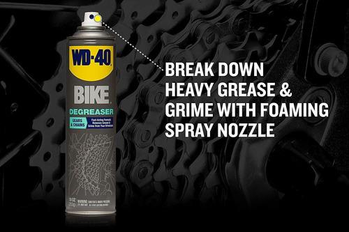 desengrasante de cadena bicicleta aerosol wd-40