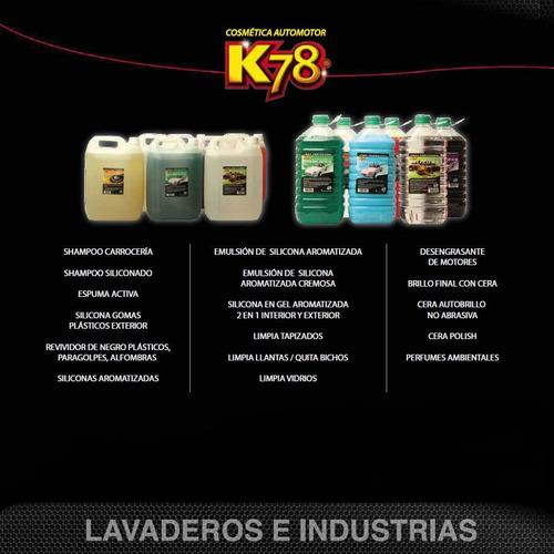 desengrasante de motor a gatillo k78
