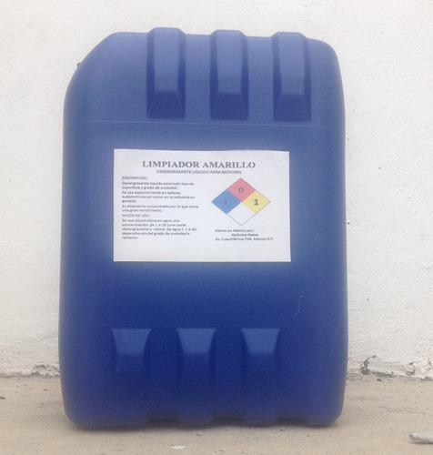 desengrasante líquido para motores