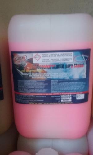 desengraxante solupan 20 lts detersid + 100 cheirinhos