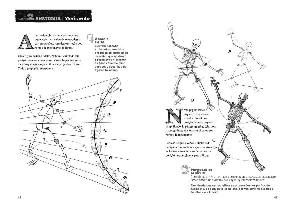 Desenho A Mao Livre Materiais E Anatomia Jubran R 45 90 Em