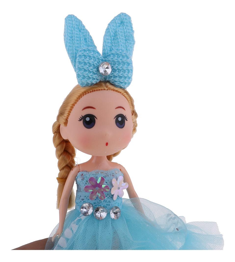 Desenho Animado Princesa Boneca Keychain Menina Boneca Chave R
