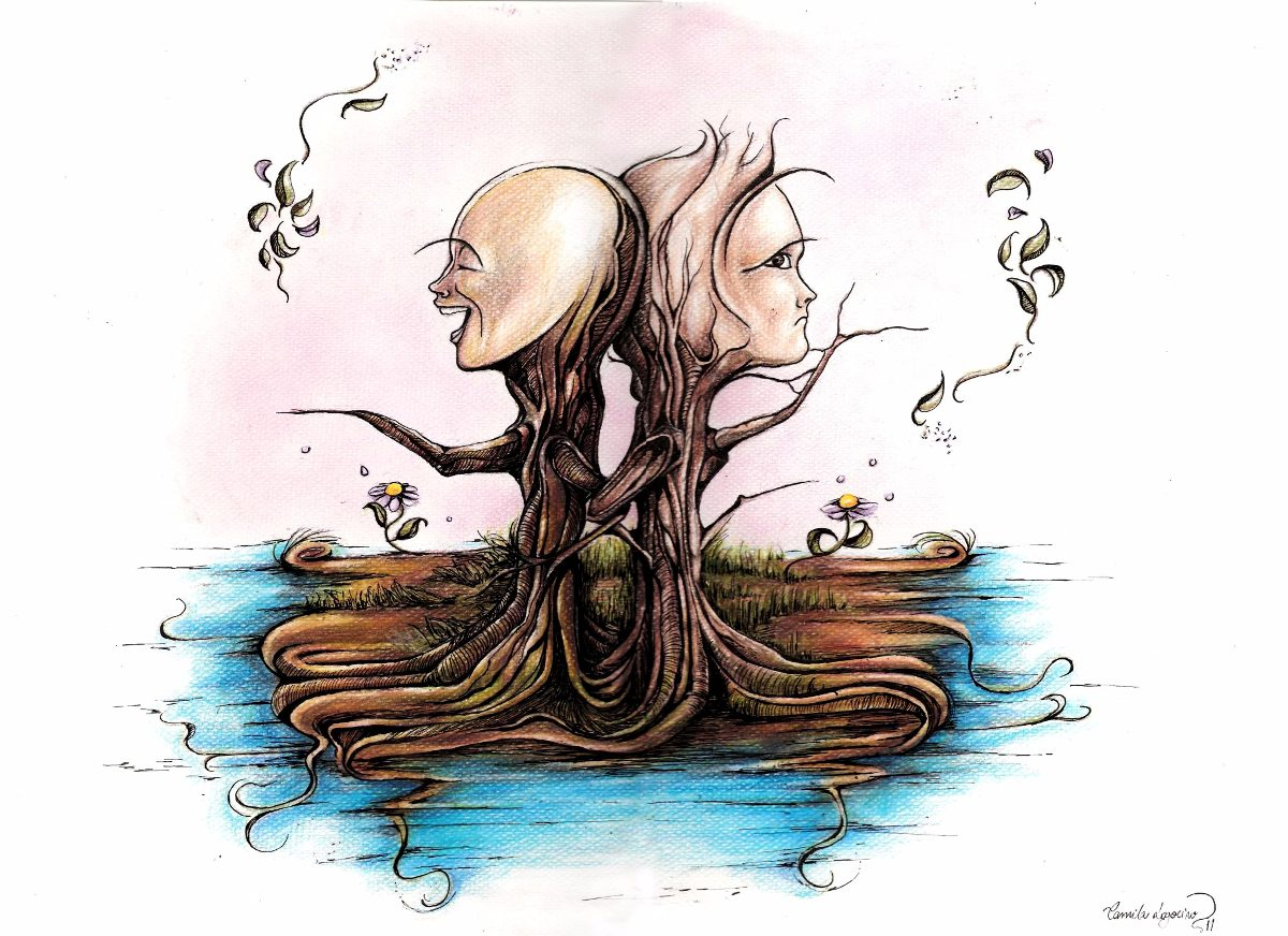 Desenho árvores Falantes Lápis De Cor R 28999 Em Mercado Livre