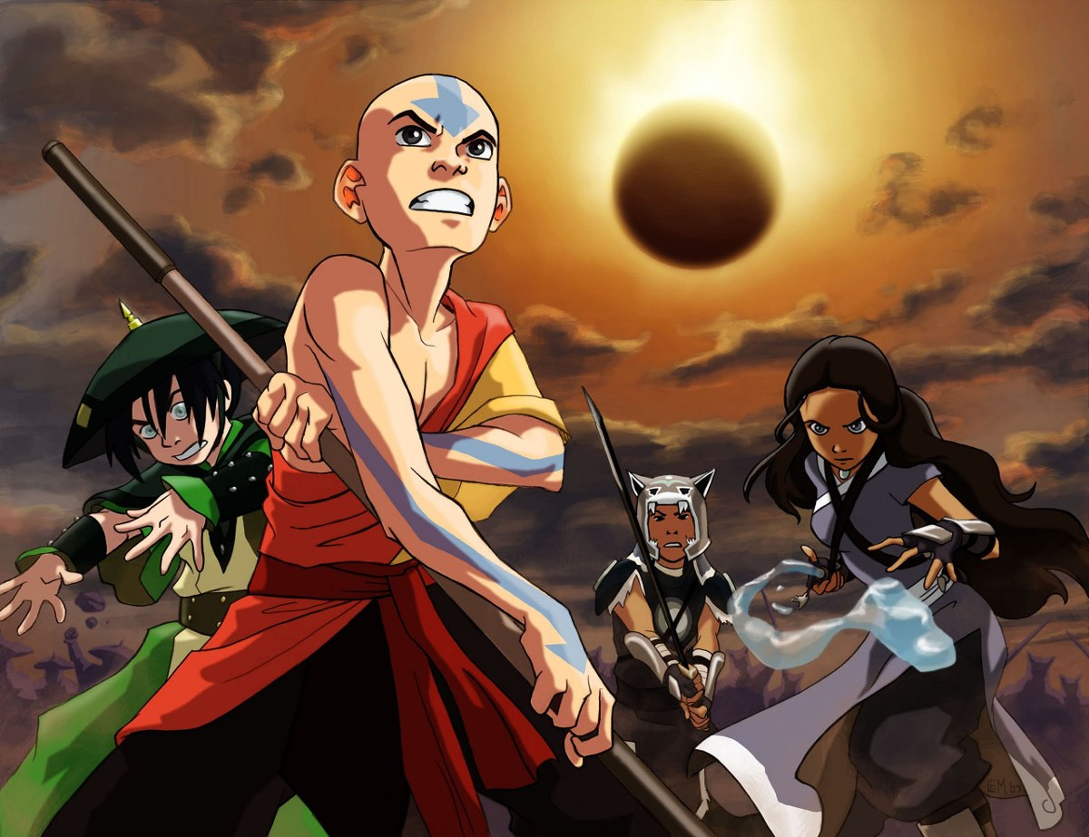 Desenho Avatar A Lenda De Aang R 45 00 Em Mercado Livre