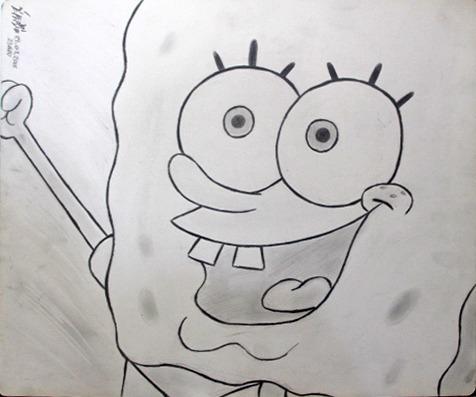Desenho Bob Esponja R 40 00 Em Mercado Livre