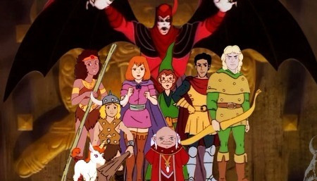desenho caverna do dragão série completa 27 episodios