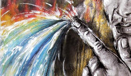 desenho cor homem 4 elementos