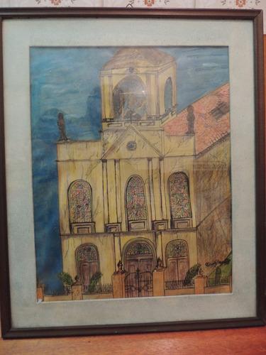 desenho danilo braga 1978 capela bomfim porto alegre bom fim