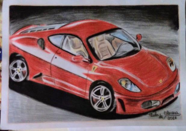 a5af1e35782 Desenho De Carro - Ferrari - R  15