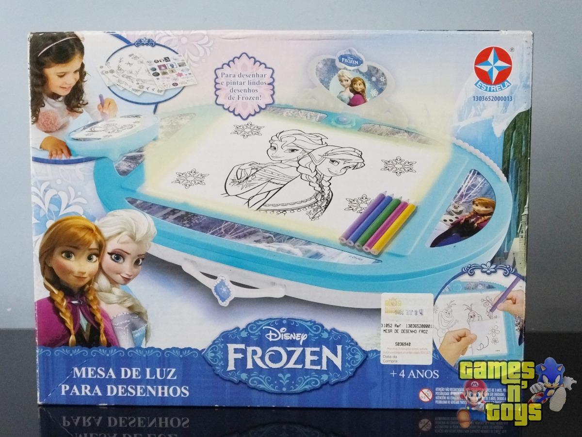 Desenho Frozen Mesa De Luz Disney Estrela R 109 00 Em Mercado Livre