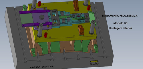 desenho mecânico 3d & 2d
