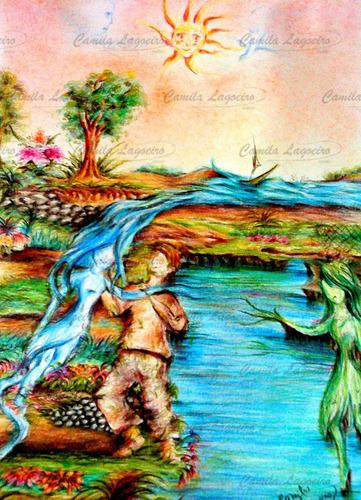desenho natureza figurativo surreal
