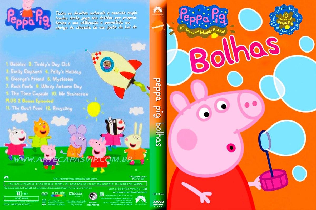 Livro da Peppa Pig ensina crianças a ver as horas
