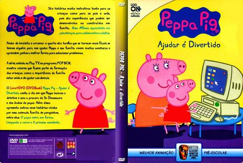 desenho peppa pig dvd português 10 dvds 152 ep