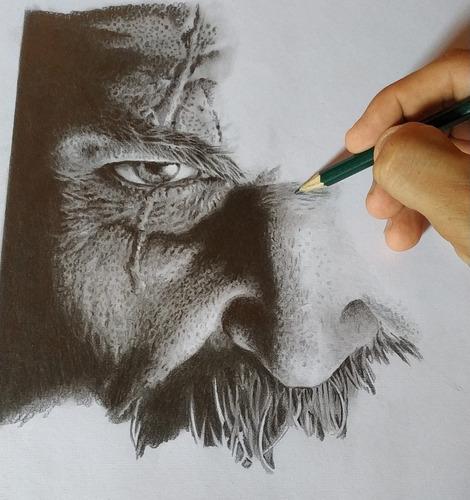 desenho realista. proficional