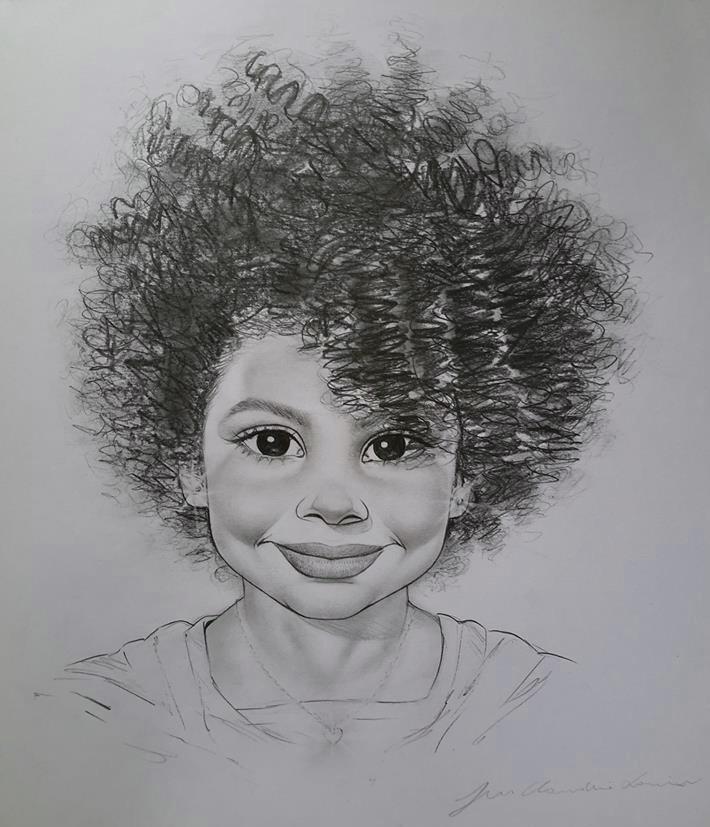 Desenho Realistas Desenho Em Preto E Branco A4 R 230 00 Em