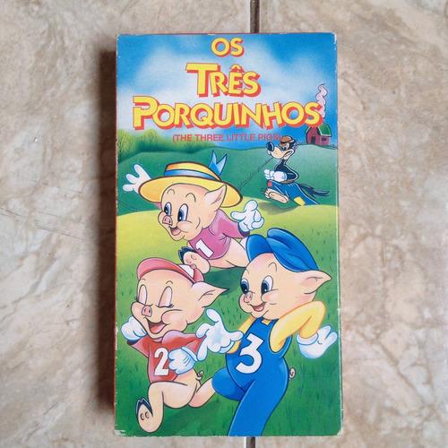 desenho vhs os três porquinhos colorido e dublado 1994