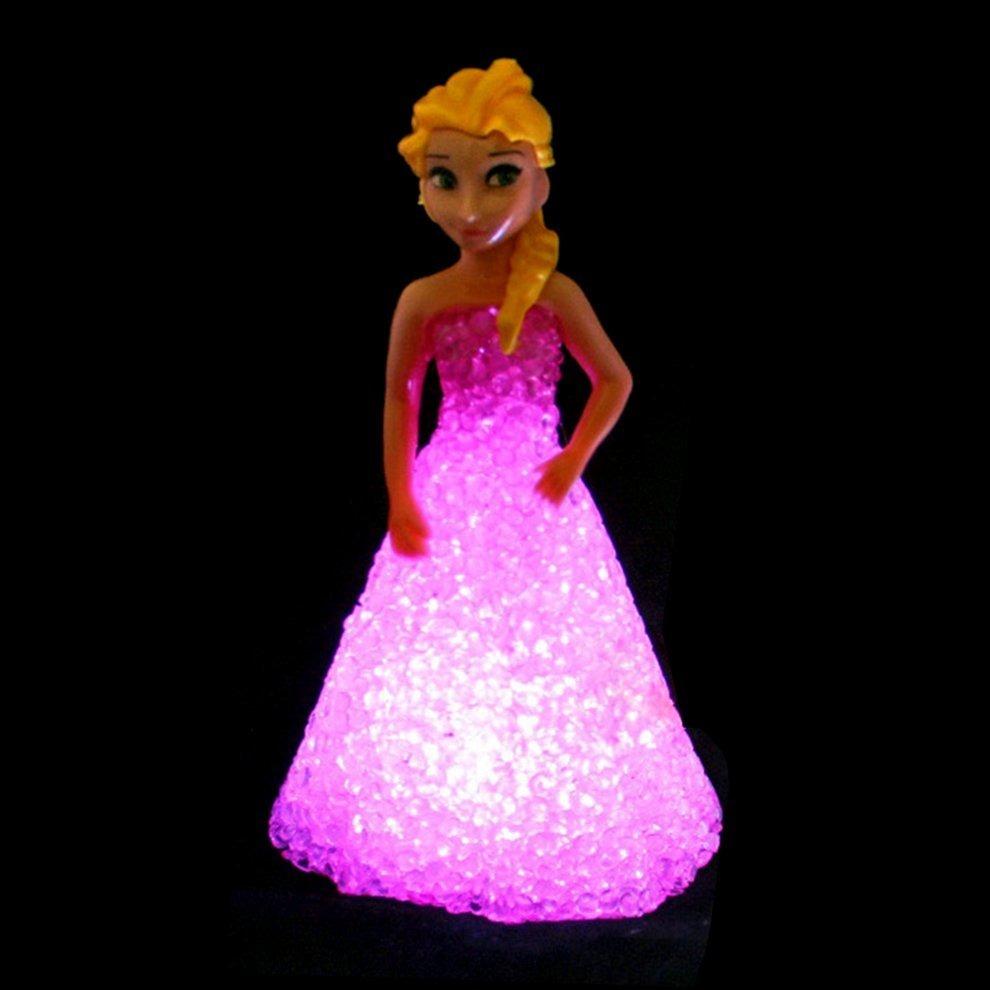 Desenhos Animados Princesa Forma Led Luz Da Noite Colorido O R