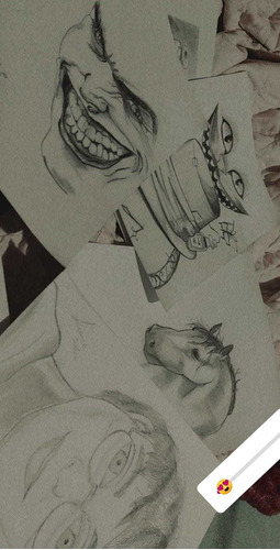 desenhos em grafite