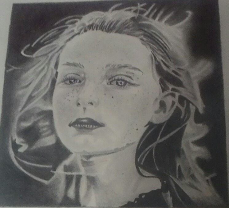 Desenhos Realistas Preto E Branco Retratos Coloridos R 80 00