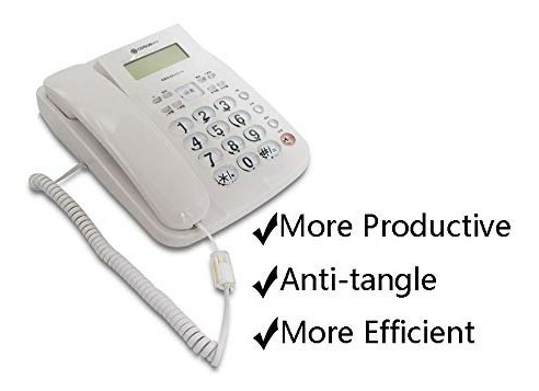 desenredante de cable telefónico, cable de teléfono uvital