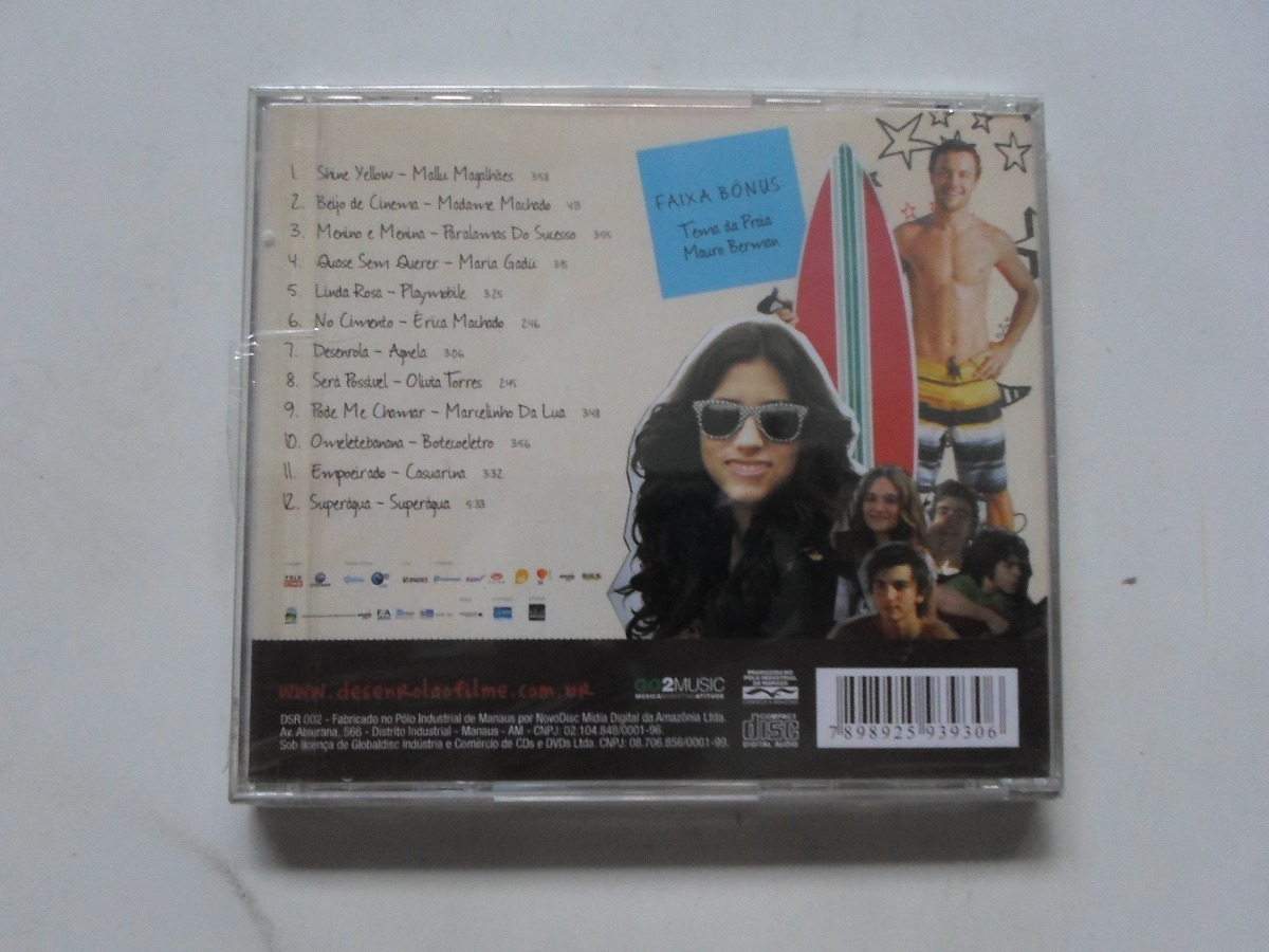 cd trilha sonora filme desenrola