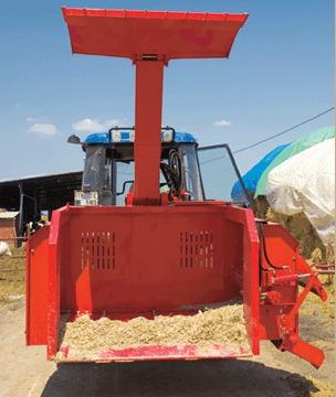 desensiladora fimaks 2 m3 maquinaria agrícola