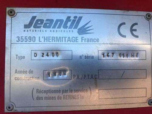 desensiladora jeantil d 2400