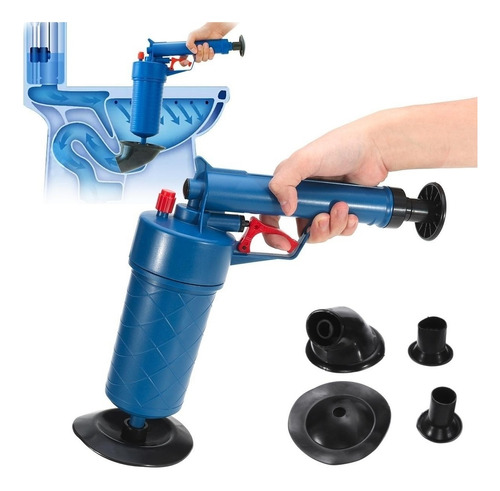 desentupidor drain blaster pias / vaso / cano alta pressão