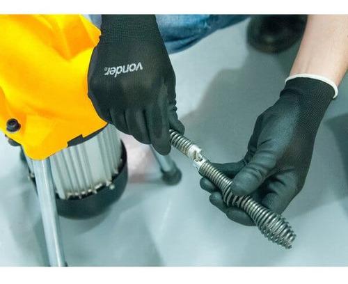 desentupidora para tubulações elétrica com acessórios dv 390
