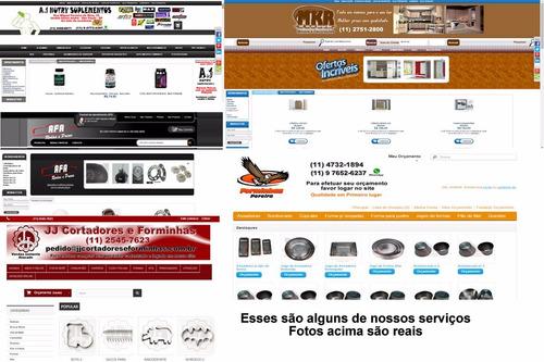 desenvolvimento de sites e lojas virtuais.