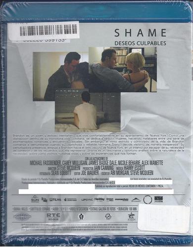 deseos culpables -shame- michael fassbender