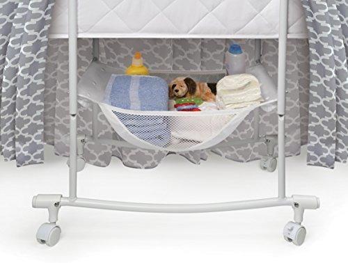 deseos cuna de bebé mecedora ovalada con ropa de cama, almac